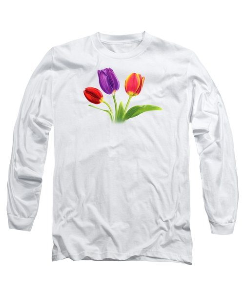Tulip Trio Long Sleeve T-Shirt