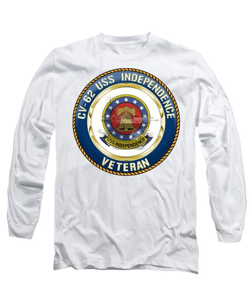 Cv-62 Uss Independence  Long Sleeve T-Shirt