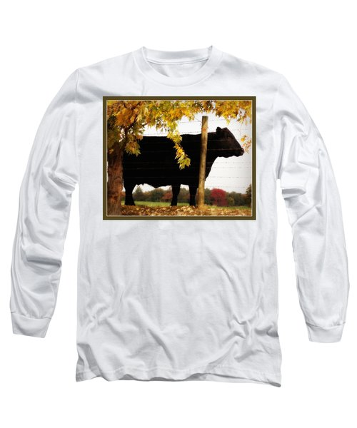 Cow Majesty Long Sleeve T-Shirt