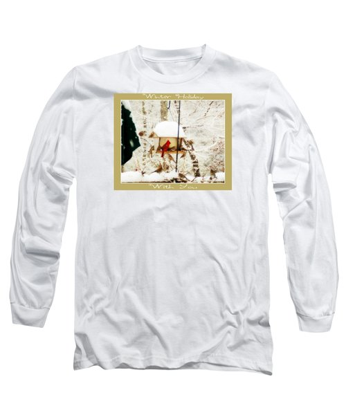 Winter Holiday Long Sleeve T-Shirt by Anita Faye