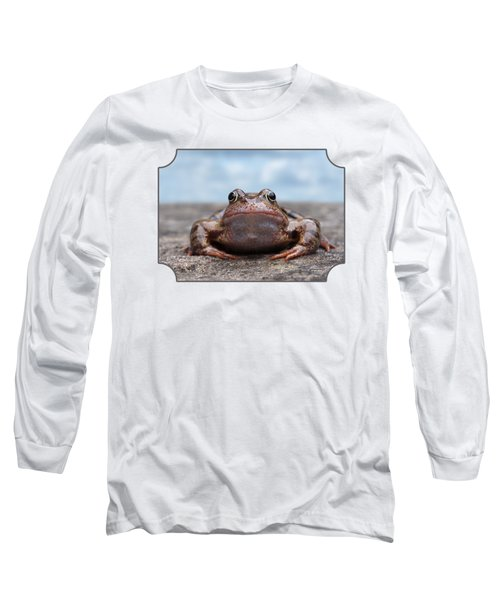 Leaving Home Long Sleeve T-Shirt by Gill Billington