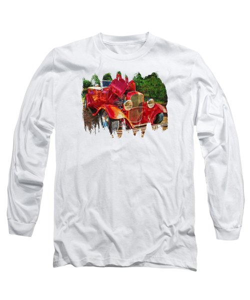 The Red Bell Roadster Long Sleeve T-Shirt