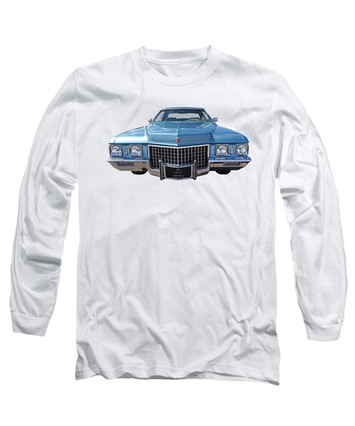 Seventies Superstar - '71 Cadillac Long Sleeve T-Shirt