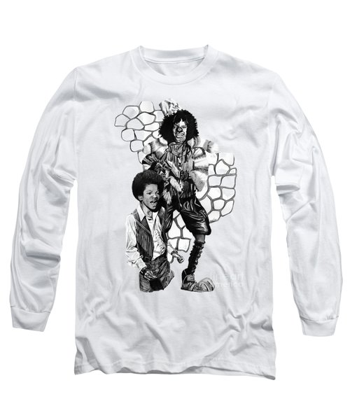 Michael Long Sleeve T-Shirt by Terri Meredith