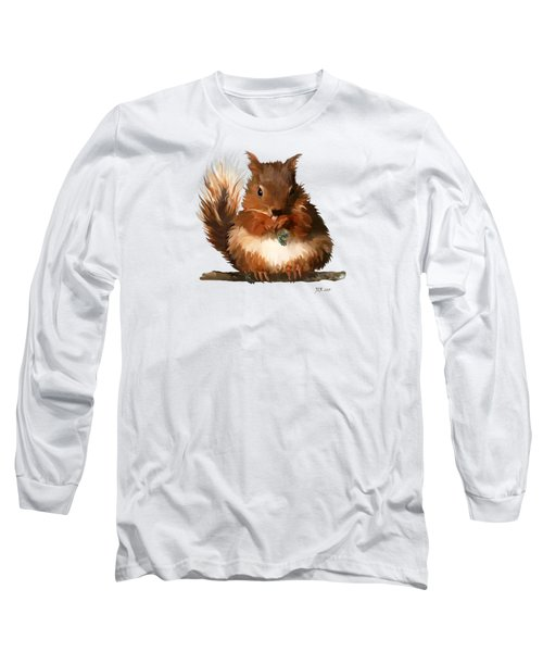 Young Squirrel Long Sleeve T-Shirt by Bamalam  Photography