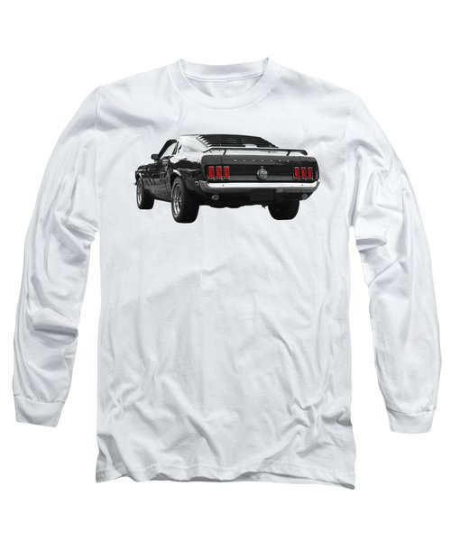 Rear Of The Year - '69 Mustang Long Sleeve T-Shirt
