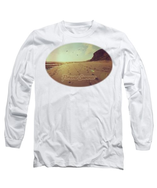 Long Sleeve T-Shirt featuring the photograph Forever Summer 9 by Linda Lees