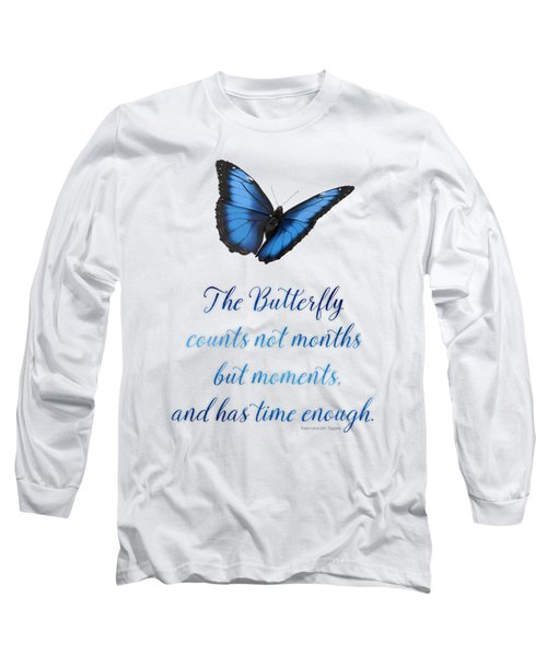 The Butterfly Long Sleeve T-Shirt by Mary Machare