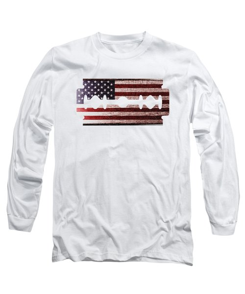 American Razor Long Sleeve T-Shirt
