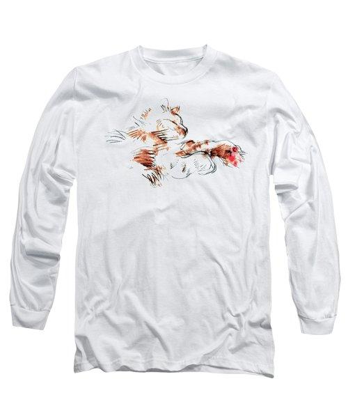 Merph Chillin' - Pet Portrait Long Sleeve T-Shirt