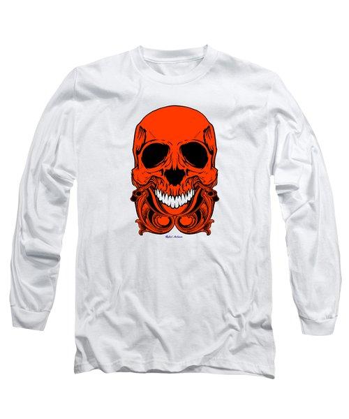 Red Skull  Long Sleeve T-Shirt