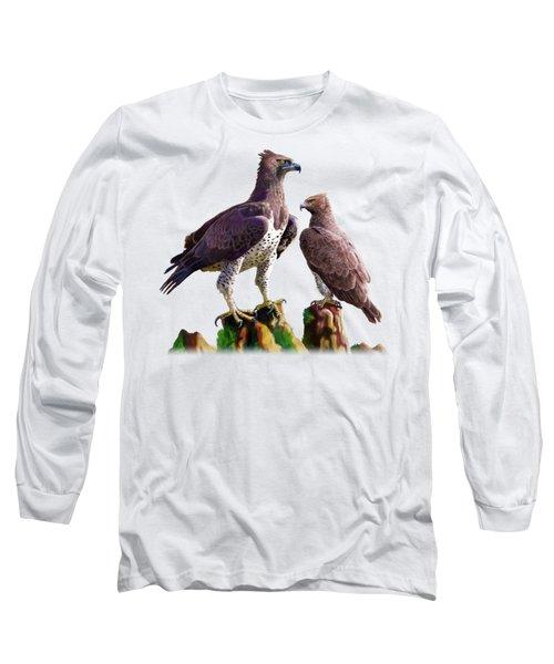 Martial Eagles Long Sleeve T-Shirt