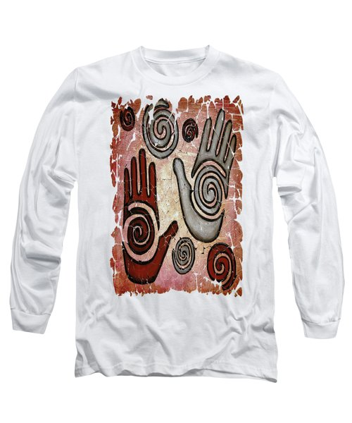 Healing Hands Fresco Long Sleeve T-Shirt