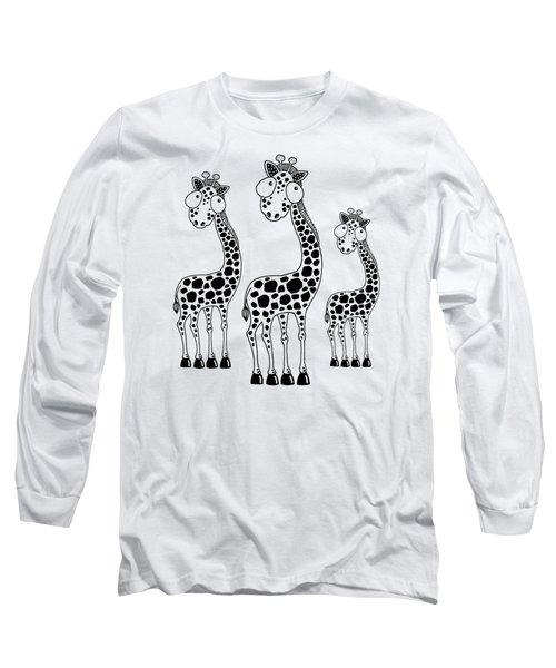 Fudge The Giraffe Long Sleeve T-Shirt