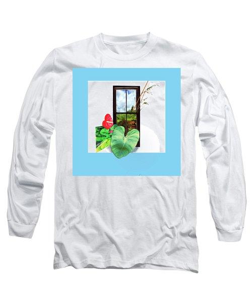 Anthurium Long Sleeve T-Shirt