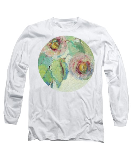 Impressionist Roses  Long Sleeve T-Shirt