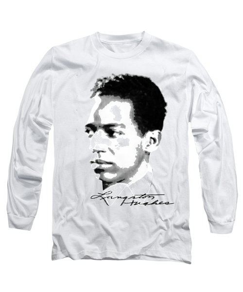 Langston Hughes Long Sleeve T-Shirt