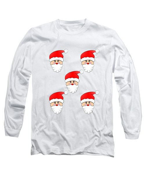 Visions Of Santa Long Sleeve T-Shirt