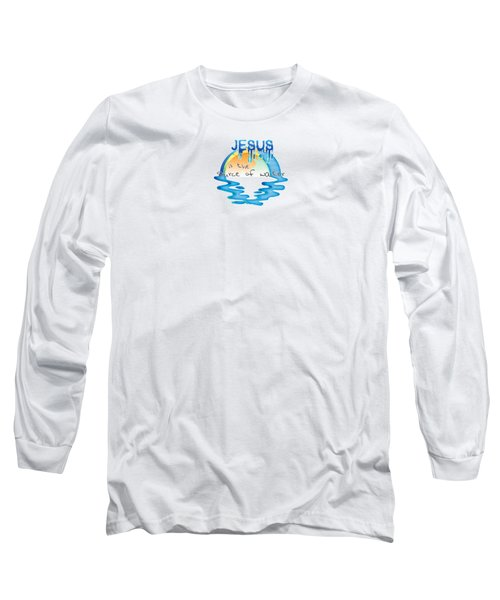 Source Of Water Long Sleeve T-Shirt