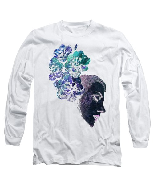 Obey Me - Negative Long Sleeve T-Shirt