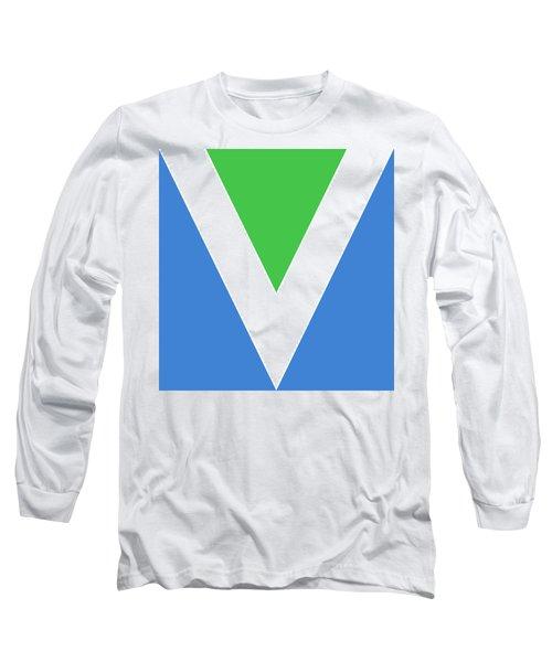 Official Vegan Flag Long Sleeve T-Shirt