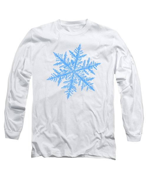 Snowflake Vector - Silverware White Long Sleeve T-Shirt