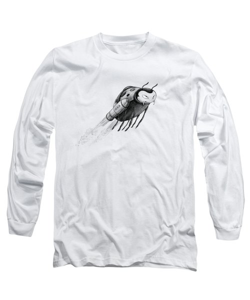 Lady Rocket Bug Long Sleeve T-Shirt
