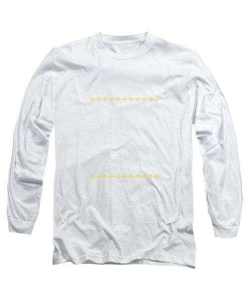 Treasure Knot In Yellow 2 Long Sleeve T-Shirt