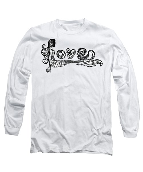 Mermaid Love Long Sleeve T-Shirt