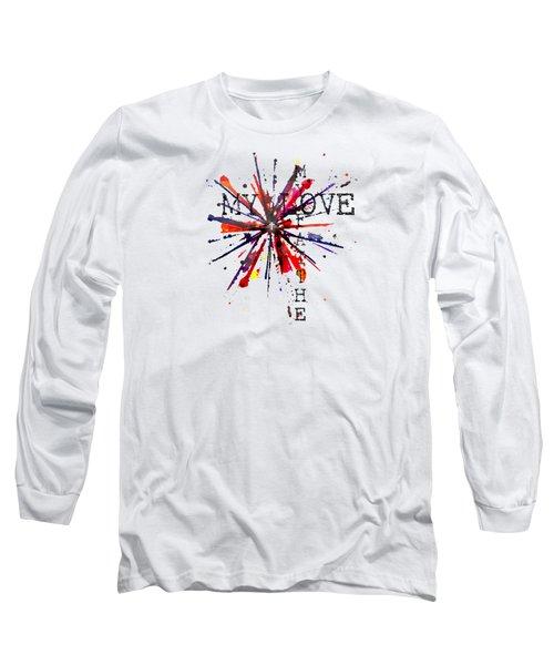 My Faith My Love Long Sleeve T-Shirt