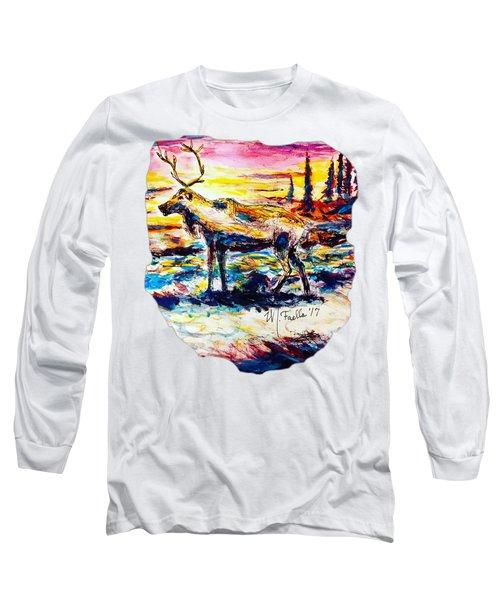 Solitude Caribou Long Sleeve T-Shirt