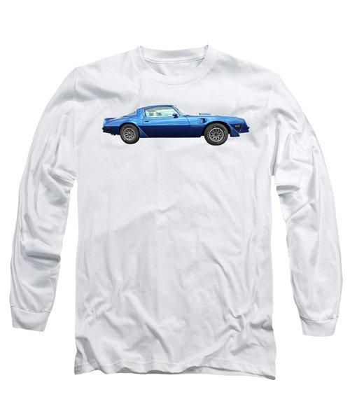 Blue Pontiac Trans Am 1978 Long Sleeve T-Shirt