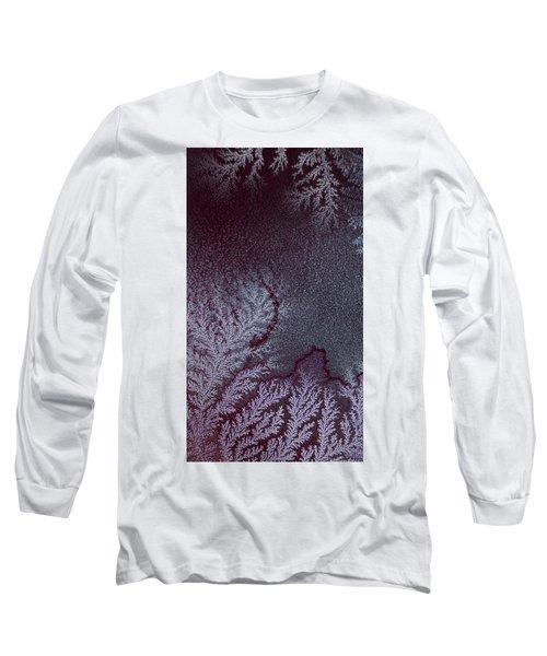 Ammonium Chloride Crystal Long Sleeve T-Shirt