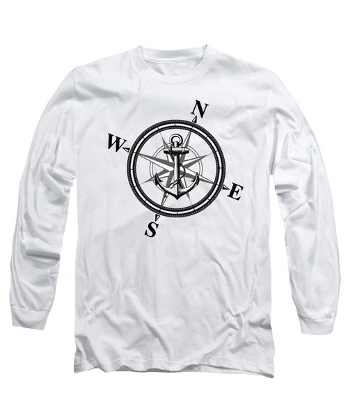 Nautica Bw Long Sleeve T-Shirt