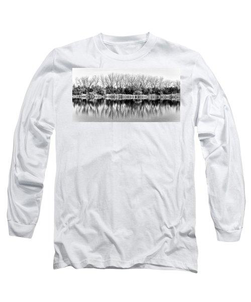 Rippled Reflection Long Sleeve T-Shirt
