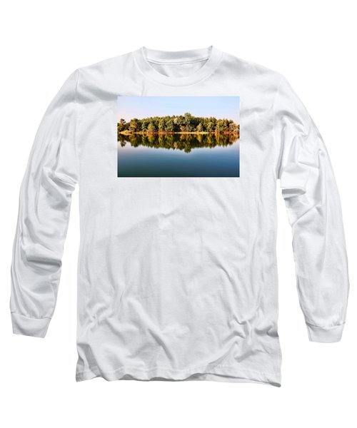 Long Sleeve T-Shirt featuring the photograph When Nature Reflects by Bill Kesler