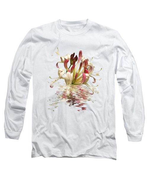 Honeysuckle Reflections Long Sleeve T-Shirt