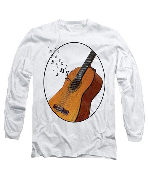 Acoustic Guitar Sounds Long Sleeve T-Shirt