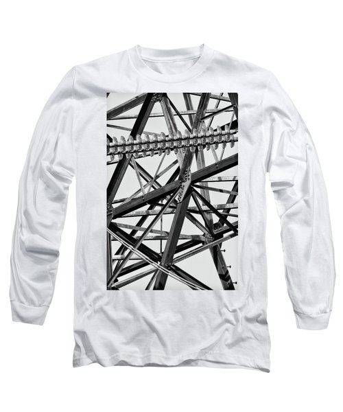 What's Your Angle Long Sleeve T-Shirt by Bill Kesler