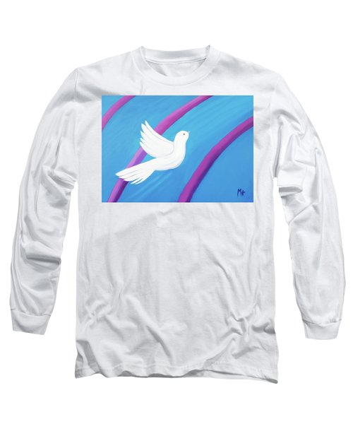 Ascending Long Sleeve T-Shirt by Margaret Harmon