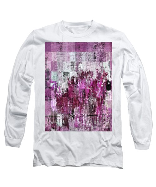 Long Sleeve T-Shirt featuring the digital art Ascension - C03xt-165at2c by Variance Collections