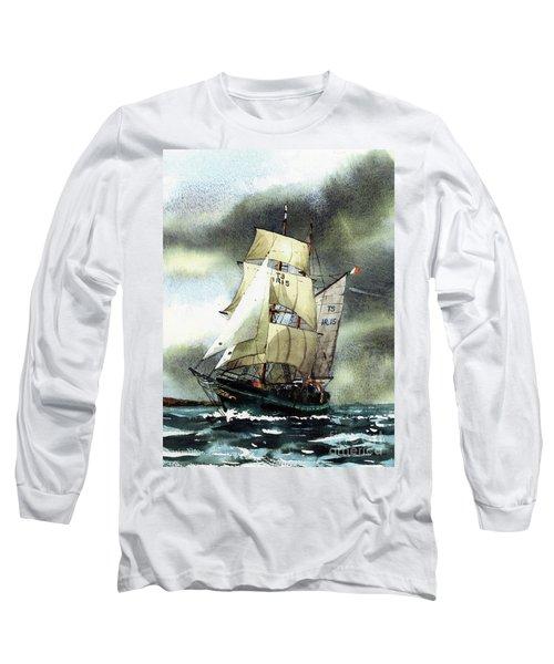 F  758  Asgard 11 Often Sailed Along The Wild Atlantic Way Long Sleeve T-Shirt