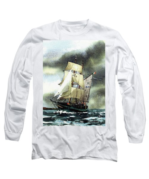 F  758  Asgard 11 Often Sailed Along The Wild Atlantic Way Long Sleeve T-Shirt