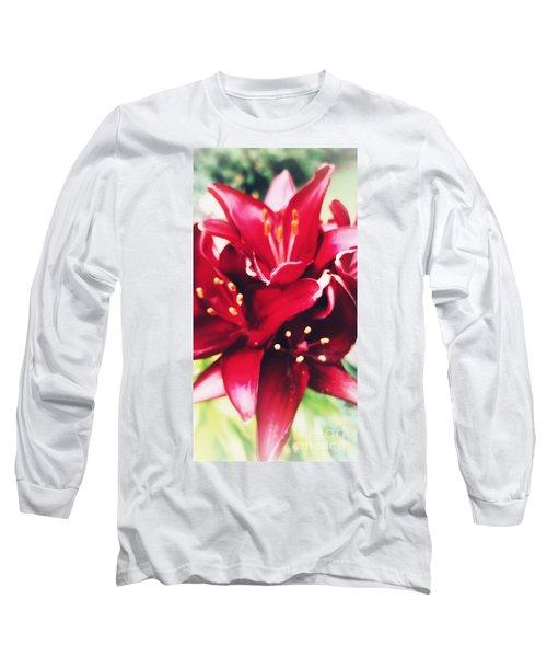 Asiatic Lilies Long Sleeve T-Shirt