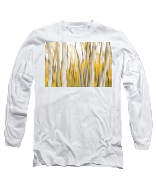 Long Sleeve T-Shirt featuring the photograph Aspens 2 by Alex Lapidus