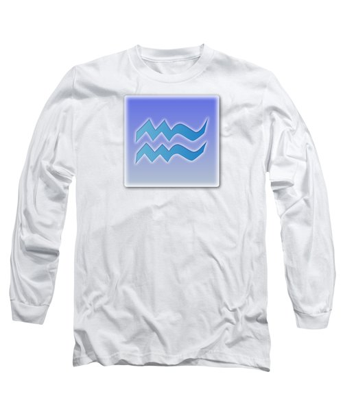 Aquarius Sun Sign Astrology  Long Sleeve T-Shirt