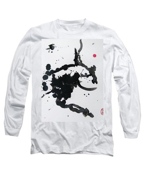 Asymmetry Inspires Grace Long Sleeve T-Shirt