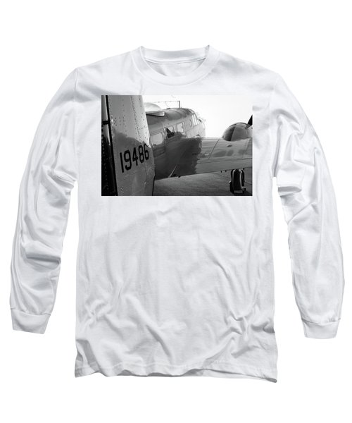 At-11 In Black And White - 2017 Christopher Buff, Www.aviationbuff.com Long Sleeve T-Shirt