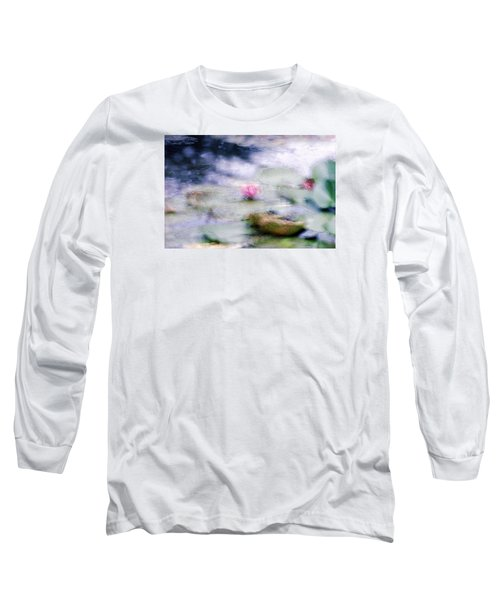 At Claude Monet's Water Garden 12 Long Sleeve T-Shirt