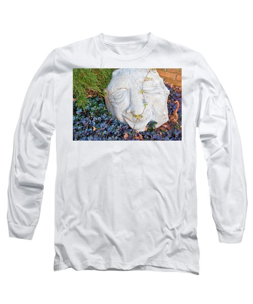 Long Sleeve T-Shirt featuring the photograph At Least Someone's Happy by Jan Amiss Photography